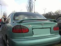 Задний ДСТ спойлер на Chevrolet Lanos (ZAZ Chance)