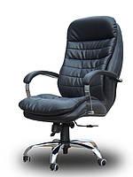 Кресло руководителя Валенсия Хром HB/ Valencia Chrome кожзам / кожа