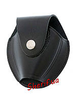 Чехол для наручников черный кожа 2006