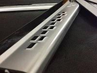 Накладки на пороги для Nissan X-Trail 2014+
