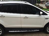Пороги Cayenne Style для Ford Kuga 2013+ (BKT-FK-S36)