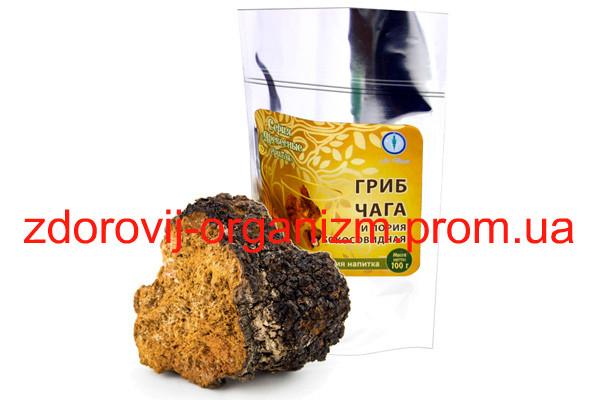 Гриб чага с порией кокосовидной