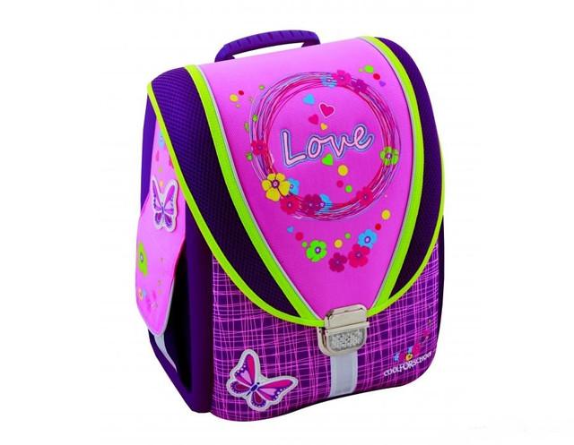 Рюкзак каркасный для девочки младших классов Cool For School