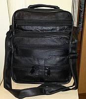 Мужская сумка (натуральная кожа) 28x23x8см