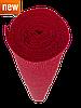 ИТАЛЬЯНСКАЯ ГОФРИРОВАННАЯ БУМАГА CARTOTECNICA ROSSI 50X250 СМ АЛЫЙ КРАСНЫЙ N589