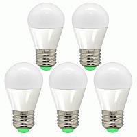 5шт Светодиодная LED лампочка LB-95 E27 7W 4000K