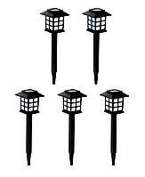 5x Садовый светильник на солнечной батарее RGB 249