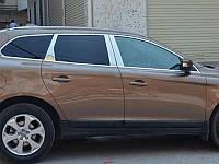 Хромированные накладки на двери Volvo XC60 2013+ (BKT-XC6-D21)