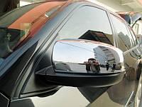 Хромированные накладки на зеркала BMW X5 2008-14 (BKT-X5-C13)