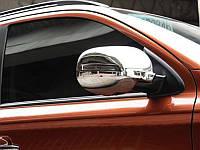 Хромированные накладки на зеркала Mitsubishi Outlander 2014+ (BKT-MO-C32)
