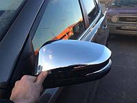 Хромированные накладки на зеркала Toyota RAV 4 2013+ (BKT-RV-C31)