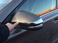 Хромированные накладки на зеркала Toyota RAV 4 2013+ (BKT-RV-C32)