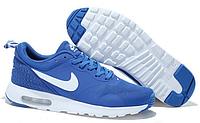 Мужские Кроссовки Nike Air Max Tavas синие с белым