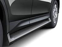 Черные пороги Toyota RAV 4 2013+ (BKT-RV-S31)