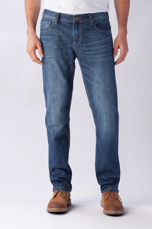 Джинсы Seven7 Luxury Denim Skinny, Scripps Blue, 36W30L, SN77AC