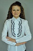 Нарядная школьная блузка для девочки