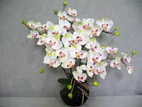 Искусственная орхидея в горшочке К15.001