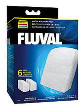 Вкладыш в фильтр Fluval Water Polishing Pad для внешнего фильтра Fluval 305 / 306, 405 /406,  6 шт