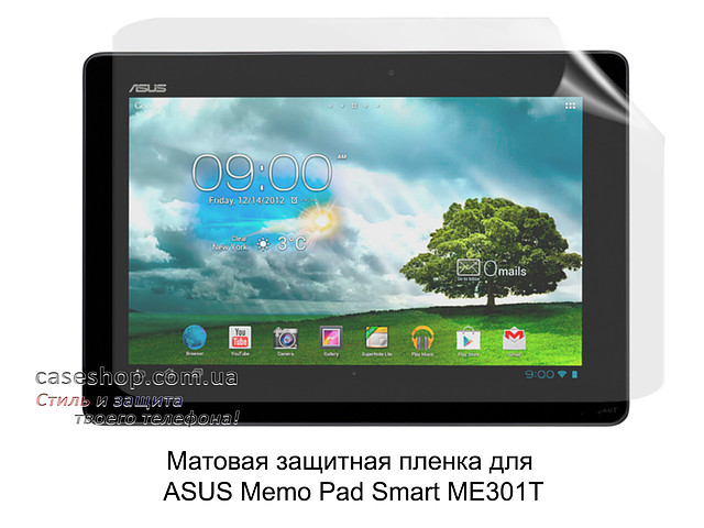 Матовая защитная пленка для Asus Memo Pad Smart ME301T