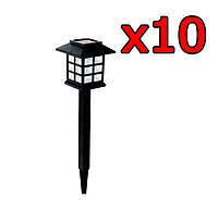10x Садовый светильник на солнечной батареи PL-249