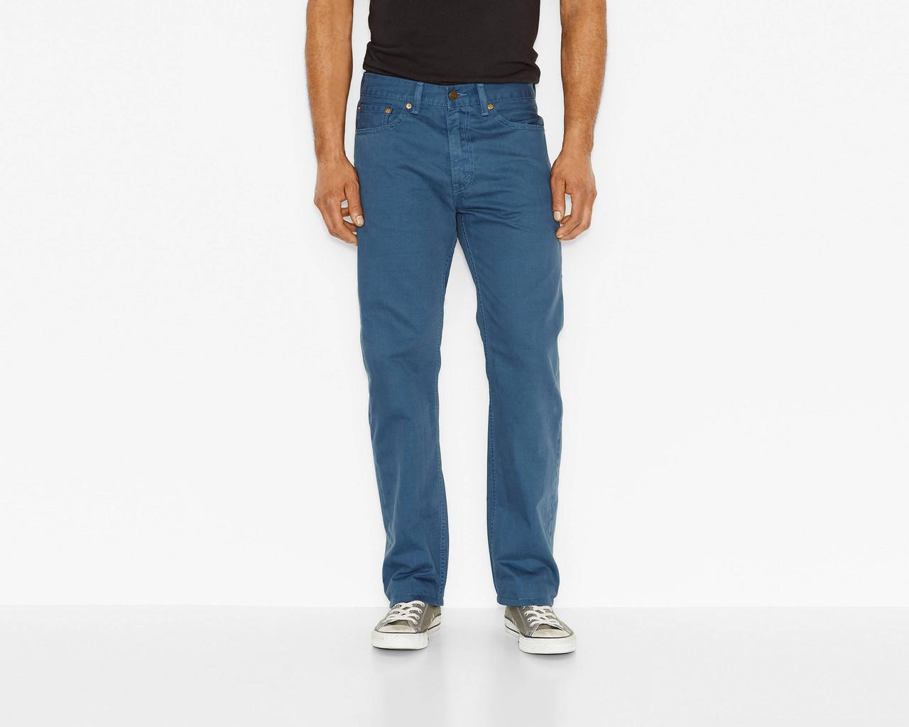 Джинсы Levi's 505 Regular Fit Pants, Ensign Blue, 34W29L, 005051259