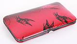 Маникюрный набор в подарочной упаковке красного цвета МАСТЕР (Россия) CVL  /0-921, фото 2