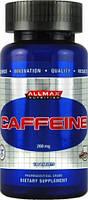 Спортивный энергетик AllMax Nutrition Caffeine 200mg 100 tab