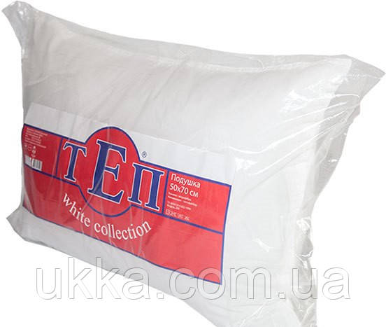 Подушка 50х70 холлофайбер Теп White collection