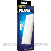 Губка Fluval Foam Filter Block для внешнего фильтра Fluval 205/206, 305/306, 2шт
