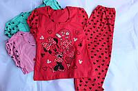 Комплект спальный, футболка+штанишки, Украина/ купить детский комплект дешево оптом со склада 7км
