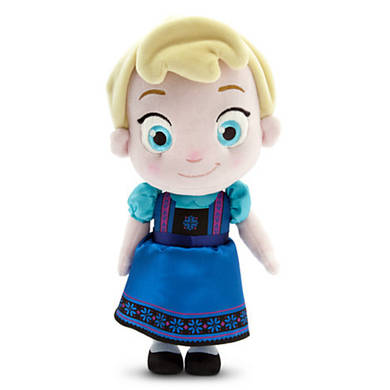 СУПЕР ЦЕНА! Кукла Эльза Дисней плюшевая малышка 30 см / Elsa Plush Doll Disney