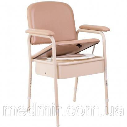 Стул-туалет с мягким сиденьем OSD-RPM-68108