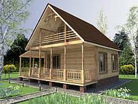 Изготовление дачных домиков в Днепропетровске
