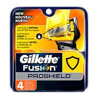 Gillette Fusion ProShield Razor Refill Cartridges Сменные картриджи для бритья  в упаковке 4 шт