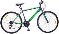 """Велосипед 26"""" Discovery ATTACK 14G Vbr St зелено-серый 2016"""