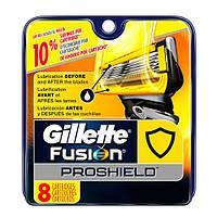 Gillette Fusion ProShield Razor Refill Cartridges Сменные картриджи для бритья  в упаковке 8 шт, Gillette
