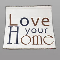 "Плед  ""Love your home"" 130х180 см"