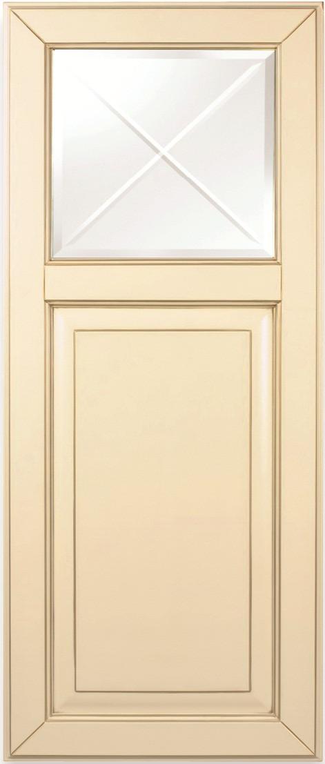 Фасад комбинированный витрина-филенка