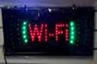 Светодиодная вывеска Wi-Fi 50cm * 25cm AT-L001