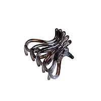 Заколка-крабик осбминог Perl 5.5 см
