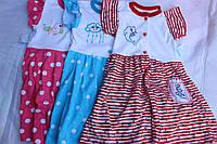 Халат детский, на пуговицах, Украина/ купить детский халат дешево оптом со склада 7км