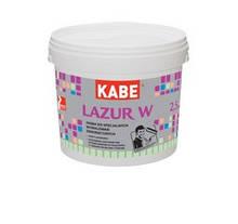 Краска интерьерная  лессировочная акриловая  Farby KABE LAZUR W , ведро - 2,5 л