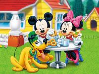 Печать съедобного фото - А4 - Cахарная бумага - Микки Маус и его Друзья №1