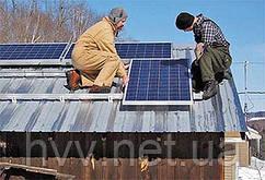Сетевая солнечная станция 3 кВт. Зелёный тариф.
