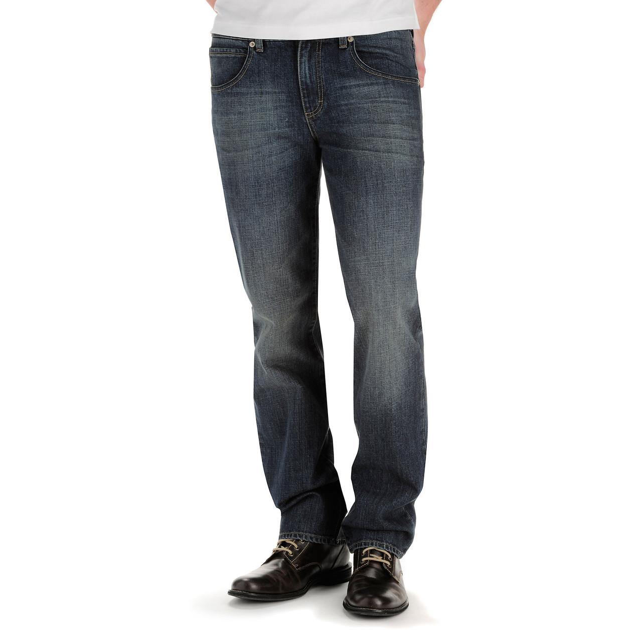 Джинсы Lee Modern Series Straight Fit Straight Leg, Blue Devil, 36W34L, 2013621