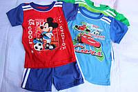 Комплект детский,мальчик, футболка+шортики, Украина/ купить детский комплект дешево оптом со склада 7км