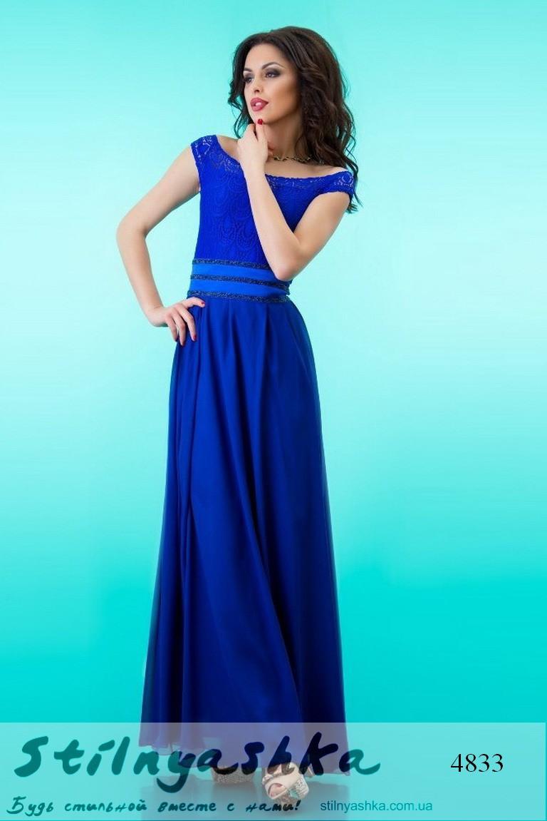 Выпускное длинное платье