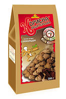 """Песочное печенье """"Шоколад"""" со стевией 300 г Стевиясан KK-0044"""