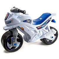Каталка мотоцикл со шлемом Орион