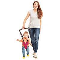 Ходунки поводок Вожжи детские Малинa первые шаги